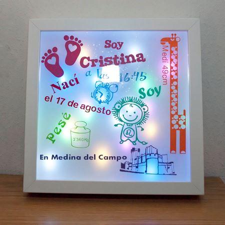 Cuadro para la categoría Caja de Luz Recién Nacido