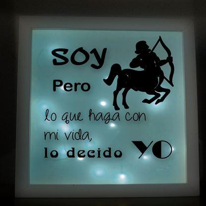 Foto de Caja de Luz Zodiaco