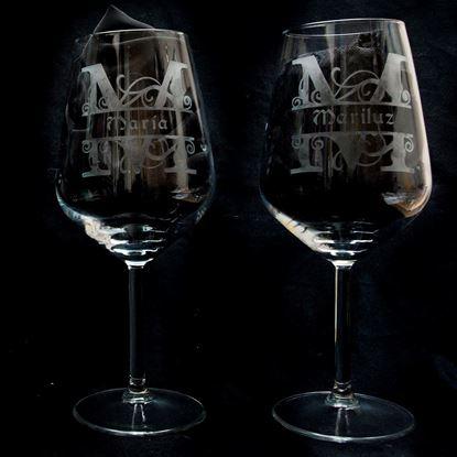 Foto de Tú y yo de vino con nombre