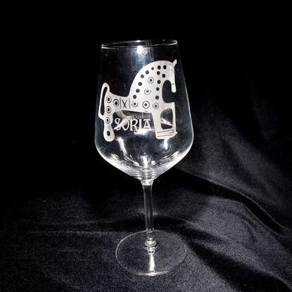 Foto de Copa de vino con lugares III